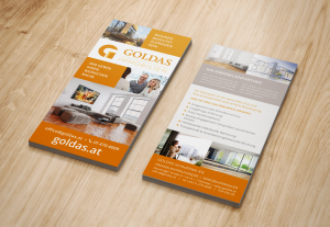 goldas flyer design