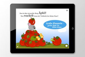 Kleiner Hase wo bist Du? interaktives kinderbuch für iPhone & iPad