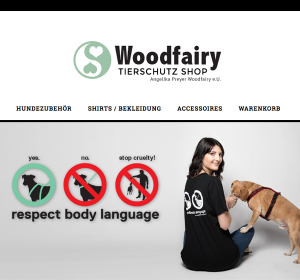 Woodfairy Tierschutz Shop | WordPress Woocommerce Shop