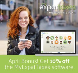 myexpattaxes social media design