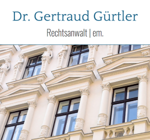 Website Dr. Gertraud Gürtler
